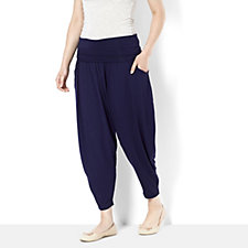 160493 - Join Clothes Jersey Drape Cropped Trouser