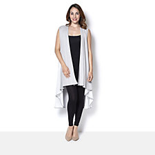 Join Clothes Sleeveless Duster Cardigan with Lux Insert