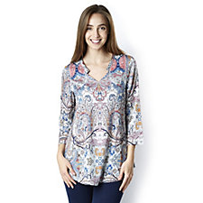 Fashion by Together Printed Woven Blouse