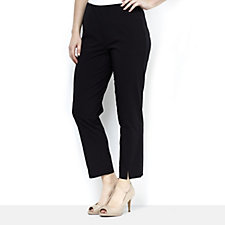 MarlaWynne Bengaline Front Seam Detail Trousers