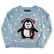 Absolutely Famous Childrens Penguin Christmas Jumper
