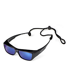 158894 - JPE Fitover Mirrored Sunglasses with Case