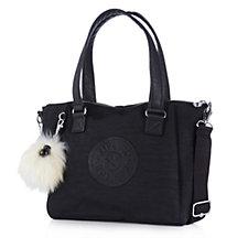 Kipling Amiel Premium Padded Shoulder Bag with Monkey Key Charm