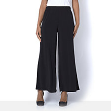 Petite Palazzo Trousers by Michele Hope