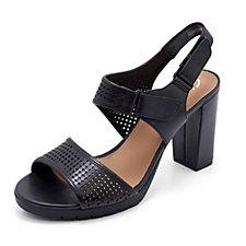 Clarks Pastina Estate Sandal with Block Heel