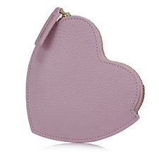 Lulu Guinness Small Heart Leather Coin Purse