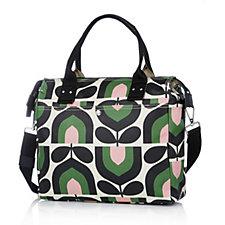 Orla Kiely Stripe Tulip Print Zip Messenger Bag