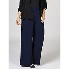 Kim & Co Brazil Knit Palazzo Trouser Regular Length