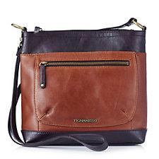 Tignanello Classic Icon Leather Large Crossbody Bag