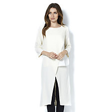 Ronen Chen Odelia Cream Layered Tunic