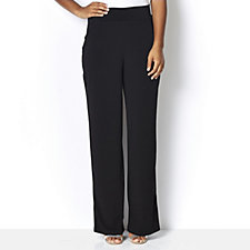 Kim & Co Brazil Knit Straight Leg with Pockets Regular Trousers