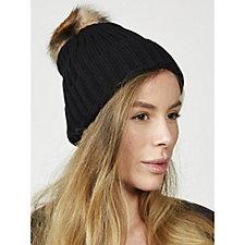 Pia Rossini Chloe Hat with Detachable Bobble