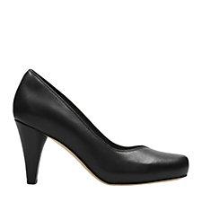 Clarks Dalia Rose Court Shoe Wide Fit