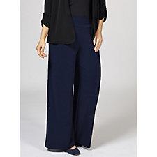 Kim & Co Brazil Knit Palazzo Trouser Petite Length