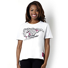 Zandra Rhodes Breast Cancer Care T-Shirt