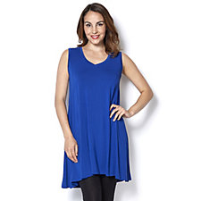 Join Clothes Sleeveless Jersey Tunic