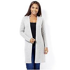 In Cashmere Edge to Edge Duster Cardigan 100% Cashmere