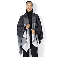 Frank Usher Ombre Knitted Wrap