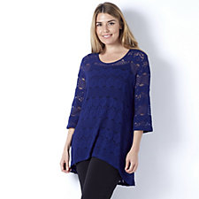 Flourish Lace Tunic by Michele Hope