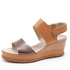 Clarks Akilah Haze Wedge Sandal