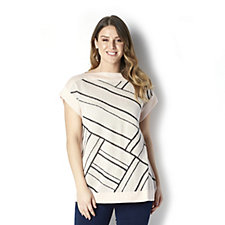 MarlaWynne Geometric Illusion Sweater