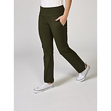Women with Control Tummy Control Pull On Petite Cargo Trousers
