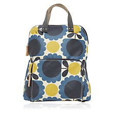 Orla Kiely Scallop Flower Spot Backpack Tote