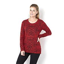 Knitwear By Etoile Jacquard Knit Sweater