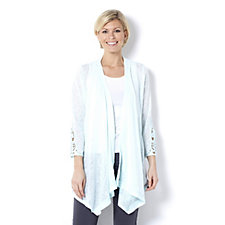 Fashion by Together Crochet Sleeve Cardigan