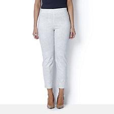 MarlaWynne Flatter Fit Printed Trouser