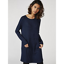 Anybody Brushed Hacci Ribbed Nightshirt