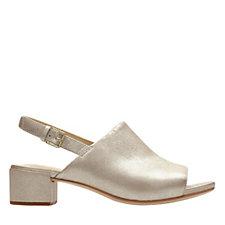 Clarks Orabella Ivy Sling Back Open Toe Sandal Standard Fit