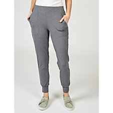 170198 - Cuddl Duds Flexwear Patch Pocket Joggers