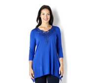 Fashion by Together Lace Tunic