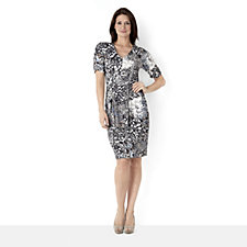 Trinny & Susannah V Neck Print Dress