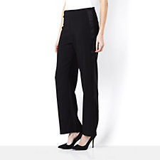 Silvia Mori Palazzo Trouser with Satin Band