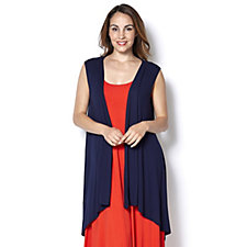 Join Clothes Sleeveless Duster Cardigan