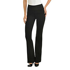 Nygard Slims Ponte Knit Bootcut Pull-On Trouser