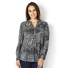 Fashion by Together Burnout Tunic