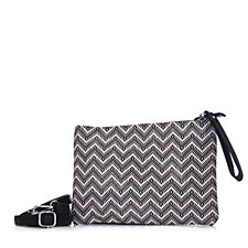 Frank Usher Patterned Clutch Bag with Detachable Strap