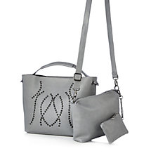 Frank Usher Crystal Swirl Bag With Inner Bag And Purse