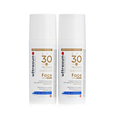Ultrasun Sun Protection Tinted Face SPF30 50ml Duo
