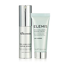 Elemis Pro-Collagen Super Serum 15ml & Marine Cream 15ml