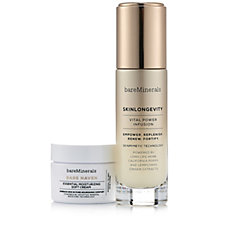bareMinerals Skinlongevity Vital Power Infusion Serum & Bare Haven