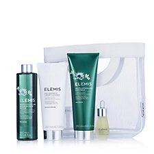 Elemis 4 Piece White Lotus & Lime Face & Body Collection