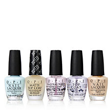 OPI 5 Piece Matte & Shine Nail Collection