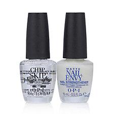 OPI 2 Piece No Chips Matte Nail Envy & Chip Skip