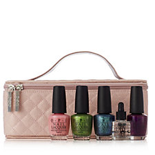 OPI 5 Piece Colour Favourites with Vanity Bag