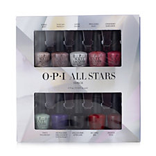OPI 10 Piece All Star Mini Lacquer Nailcare Collection