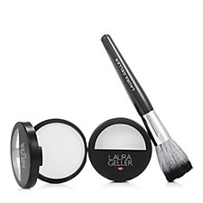 Laura Geller Duo Matte Maker Invisible Oil Blotting Powder & Brush